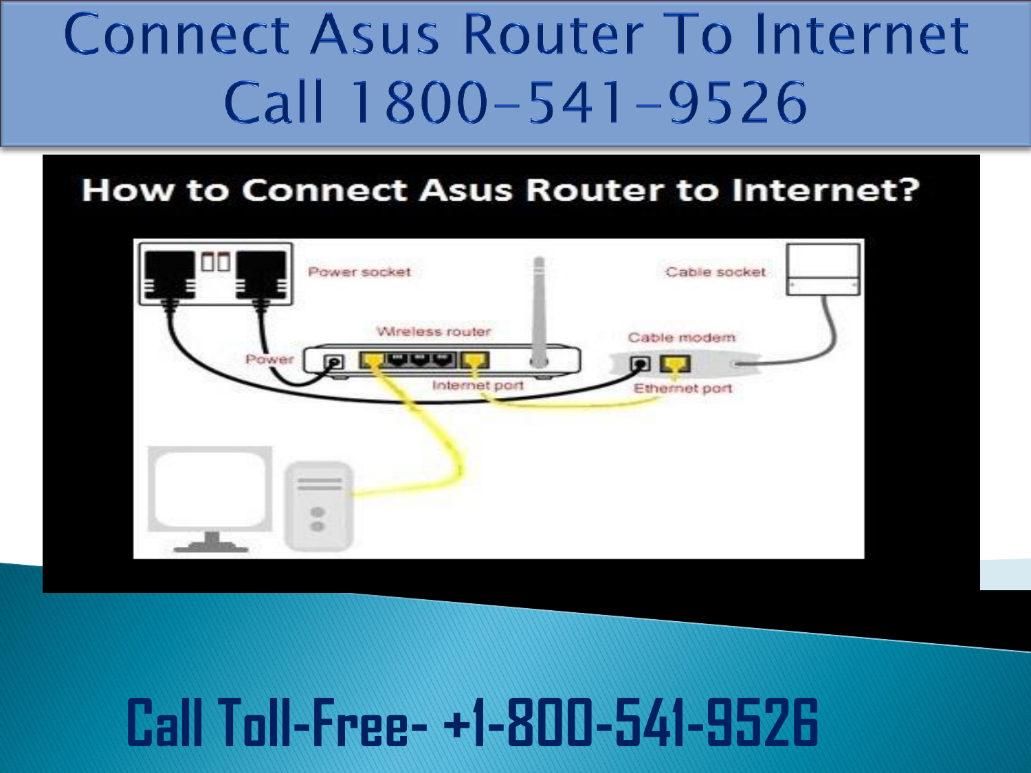 How To Connect Asus Router To Internet? Call 1-800-541-9526