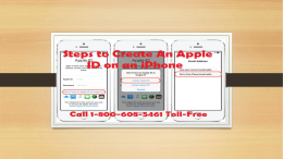 How to Create An Apple ID On An iPhone? Call 1-800-608-5461 Toll-Free
