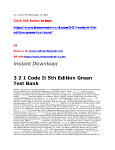 3 2 1 Code It 5th Edition Green Test Bank