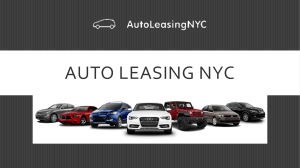 Auto Leasing NYC