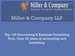 Miller   Company LLP