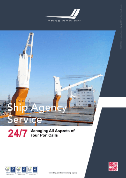 Trans Marina Group - Ship Agency Services