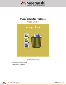 Magento Image Clean
