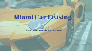 Miami Car Leasing