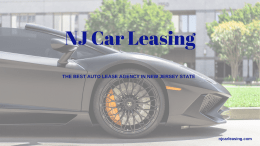 NJ Car Leasing