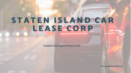 Staten Island Car Lease Corp