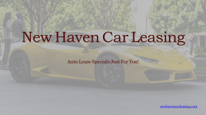 New Haven Car Leasing