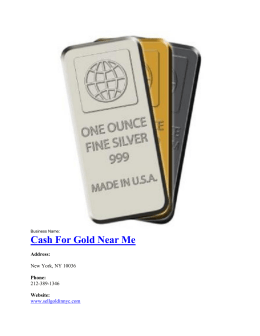 Cash For Gold Near Me-converted
