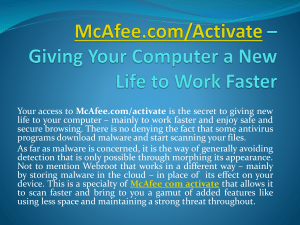 Get Access to McAfee com Activate - www.mcafee.com activate