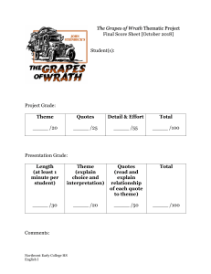 The Grapes of Wrath Thematic Project Final Score Sheet [Oct 2018] (1)