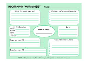 BiographyWorksheet