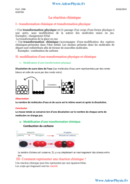 Cours 2'   les combustions (Www.AdrarPhysic.Fr)