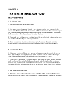 08 - The Rise of Islam 6001200
