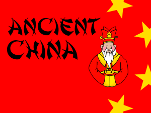Ancient China (1)