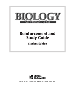 Reinforcement and Study Guide. Student Edition