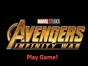 Avengers; Infinity War PPT Game