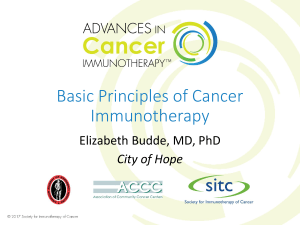 Budde PP Basic Principles of Cancer Immunotherapy (WEB)