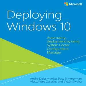 MICROSOFT PRESS EBOOK DEPLOYING WINDOWS 10 PDF