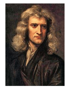 October - Sir Isaac Newton