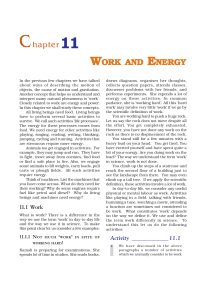 1. Work and Energy