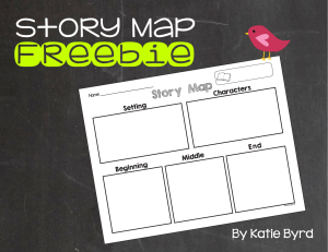FREEBIEStoryMapSettingCharactersBeginningMiddleEnd