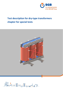 02.04.80-11.006 - Test description for dry-type-transformers for special tests RevE