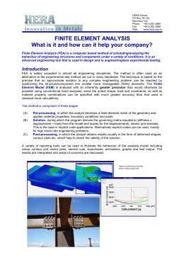 What is FEA and how can it help you