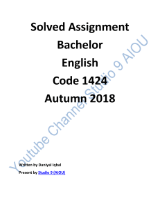 assignment 1424 -2 autumn 2018.pdf · version 2-1(1)