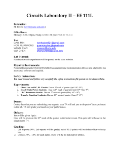 EE111L Lab Report Template 2019 01 7