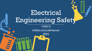 Electrical Engineering Safety