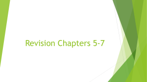 F3  Chap 5-7 revision