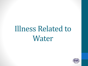 Illness Related to Water