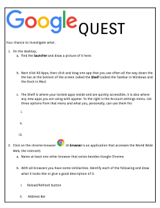 Google Quest - Intro to Google