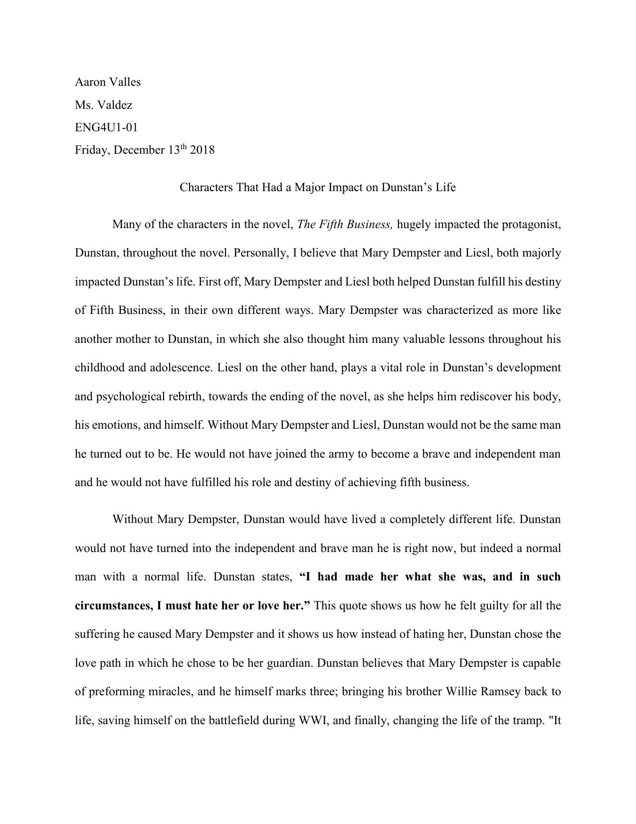 Robert gray meatworks essay