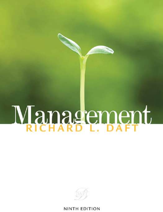 Richard Daft Management Text Book