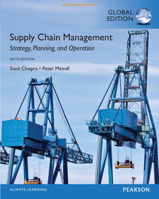 d8e88835e Supply Chain Management