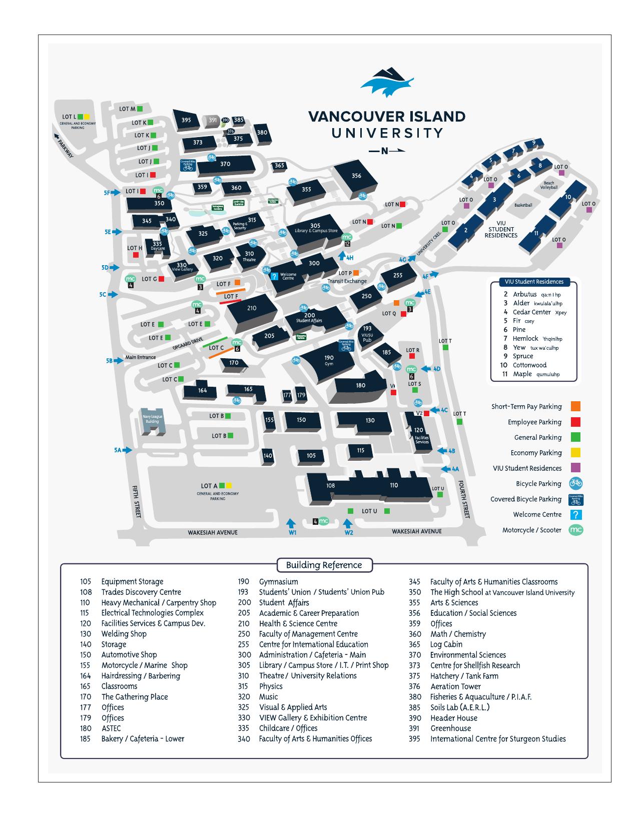 viu nanaimo campus map Viu Nanaimo Campus Map viu nanaimo campus map