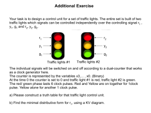 FoCS Additional Exercise - traffic light