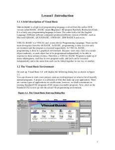 Vbasic tutorial print version