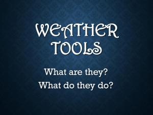 weather tools ppt