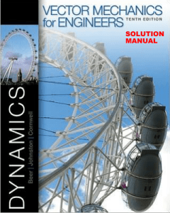 beervectormechanicsforengineersdynamics10thsolutions-140925143957-phpapp02