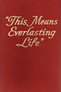 1950 This Means Everlasting Life
