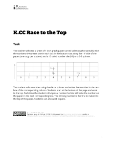 K.CC.A.3 Race to the Top