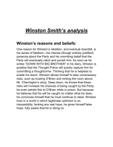 Winston Smith Analysis