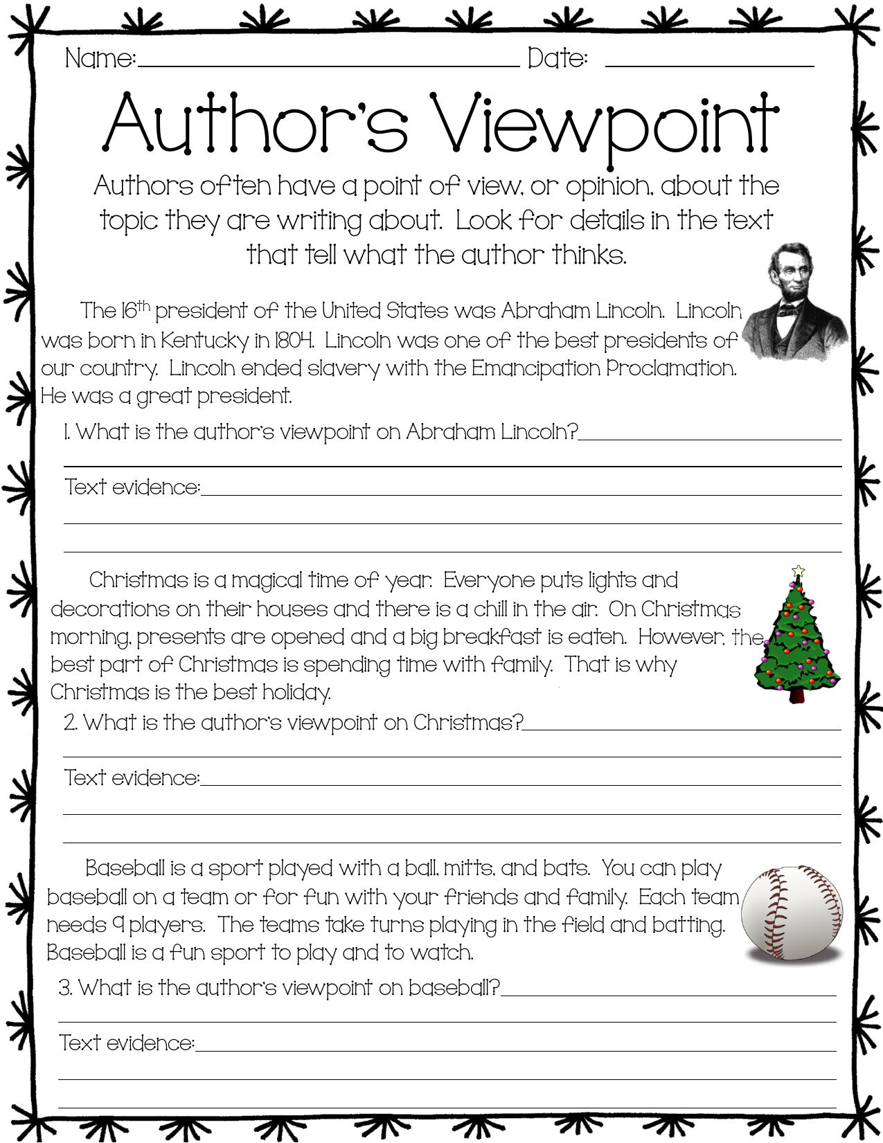Why Christmas Is The Best Holiday.Authorsviewpointactivity