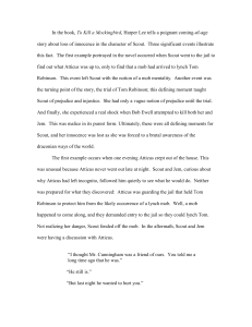 ESSAY-Mockingbird