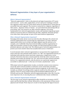 Network Segmentation - May 2014 - v3