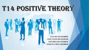 Presentation positive theory