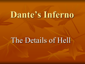 Dante's Inferno - The Details of Hell