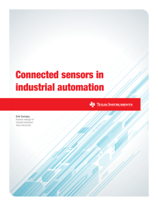 Connected Sensors TI spry229b